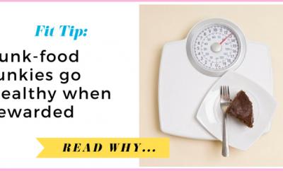 Junk-food junkies go healthy when rewarded| via TheWeighWeWere.com