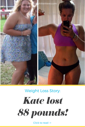 Kate lost 88 pounds! See my before and after weight loss pictures, and read amazing weight loss success stories from real women and their best weight loss diet plans and programs. Motivation to lose weight with walking and inspiration from before and after weightloss pics and photos.