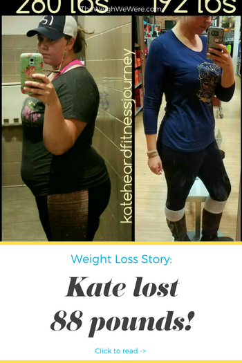 Kate Lost 88 Pounds