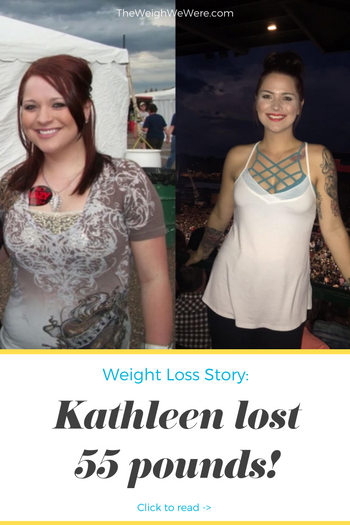 Kathleen Lost 55 Pounds