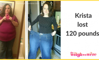 120 Pounds Lost:  From Flab to Fab