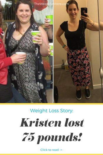Kristen lost 75 pounds! See my before and after weight loss pictures, and read amazing weight loss success stories from real women and their best weight loss diet plans and programs. Motivation to lose weight with walking and inspiration from before and after weightloss pics and photos.