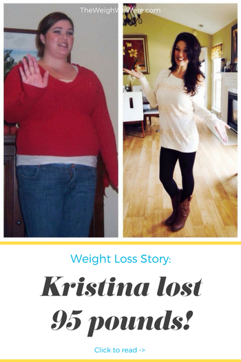 Kristina lost 95 pounds! See my before and after weight loss pictures, and read amazing weight loss success stories from real women and their best weight loss diet plans and programs. Motivation to lose weight with walking and inspiration from before and after weightloss pics and photos.