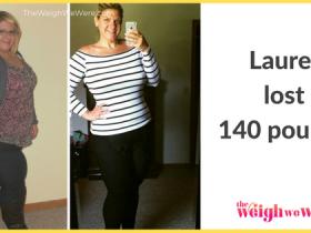 Lauren Lost 140 Pounds