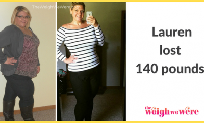 Weight Loss Success Stories: Lauren Lost 140 Pounds And Became A Healthier Mom