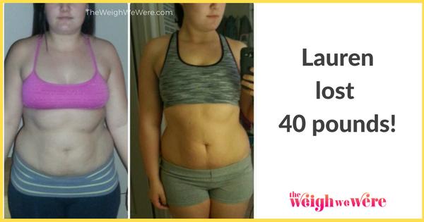 Lauren Lost 40 Pounds