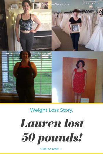 Lauren Lost 50 Pounds