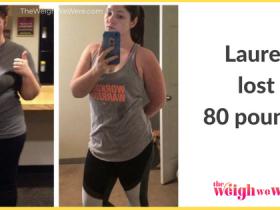 Lauren Lost 80 Pounds