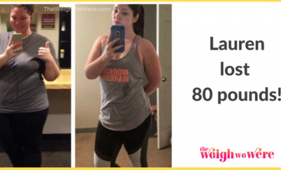 Weight Loss Success Stories: Lauren Shed 80 Pounds And Started Living Again