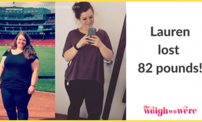 82 Pounds Lost: Finding self love