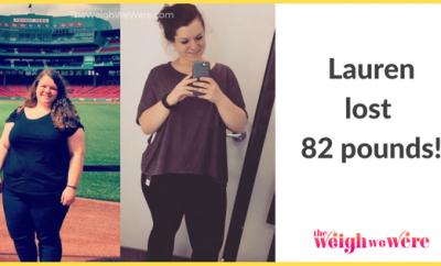 Lauren Lost 82 Pounds