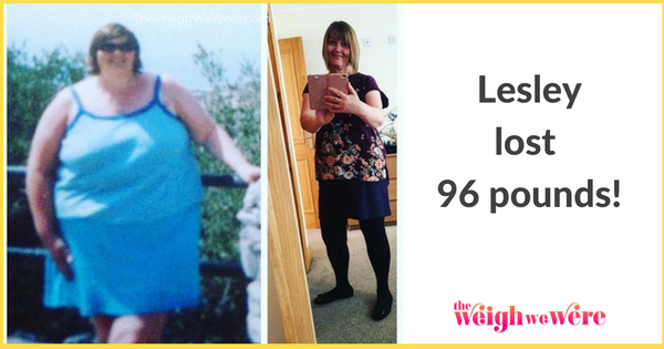 Lesley Lost 96 Pounds