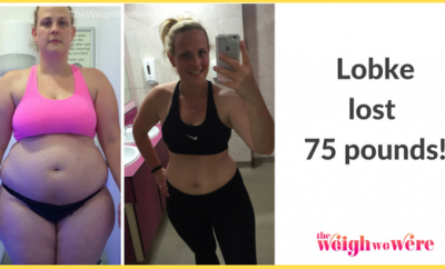 75 Pounds Lost: How I turned my life around