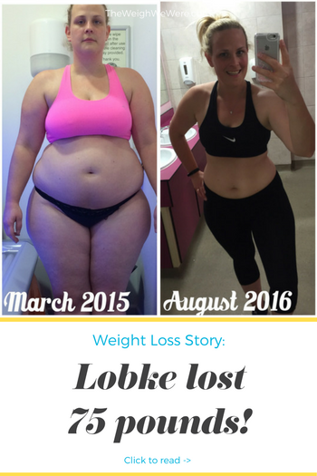 Lobke Lost 75 Pounds