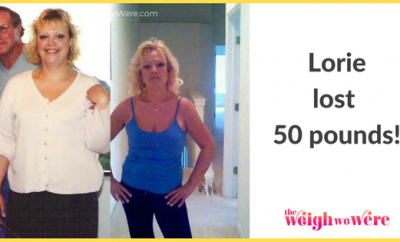 50 Pounds Lost:  Ditching The Diet Mentality