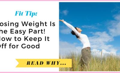 Losing Weight Is the Easy Part: How to Keep It Off for Good| via TheWeighWeWere.com