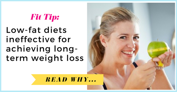 The Lancet Diabetes & Endocrinology: Large meta-analysis finds low-fat diets ineffective for achieving long-term weight loss| via TheWeighWeWere.com