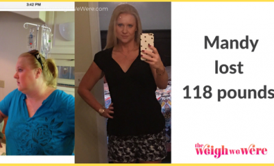 118 Pounds Lost: Low carb and running