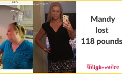 Mandy Lost 118 Pounds