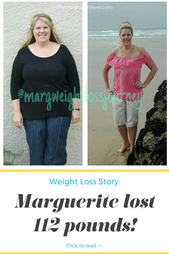 Marguerite lost 112 pounds! See my before and after weight loss pictures, and read amazing weight loss success stories from real women and their best weight loss diet plans and programs. Motivation to lose weight with walking and inspiration from before and after weightloss pics and photos.