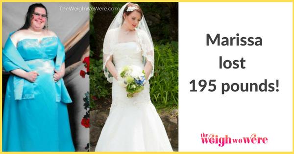 Marissa Lost 195 Pounds