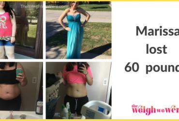 Marissa Lost 60 Pounds