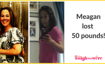 Meagan Lost 50 Pounds