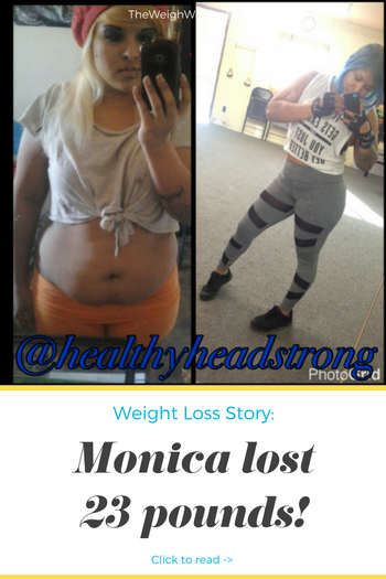 Monica Lost 23 Pounds