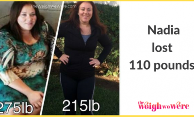 110 Pounds Lost: Facing my food addiction!