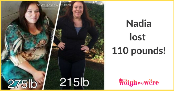 Nadia Lost 110 Pounds