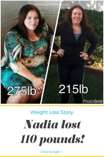 Nadia Lost 110 Pounds