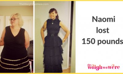 Weight Loss Before and After: Naomi's 150 Pounds Weight Loss Journey