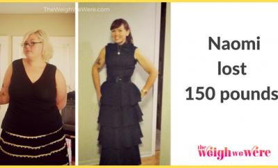 Naomi Lost 150 Pounds