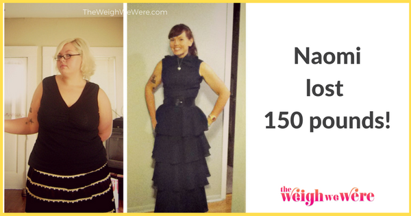 Naomi Lost 150 Pounds