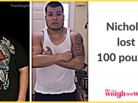 Nicholas Lost 100 Pounds