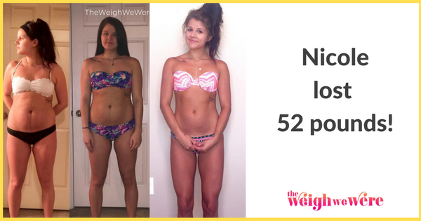 Weight Loss Before and After: Nicole Lost 52 Pounds After ...