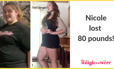 Nicole's Amazing 80 Pound Weight Loss Success Story Transformation