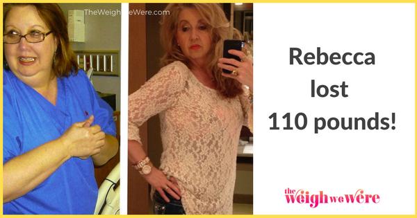 Rebecca Lost 110 Pounds