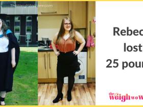 Rebecca Lost 25 Pounds