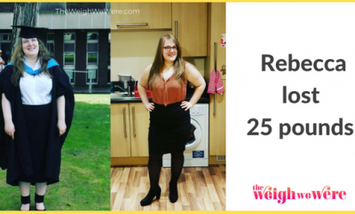 Real Weight Loss Success Stories: Rebecca Lost 25 Pounds And Saw A New Self In The Mirror