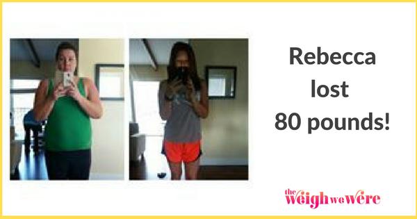 Rebecca Lost 80 Pounds