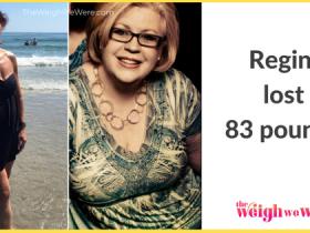 Regina Lost 83 Pounds
