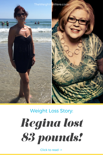 Regina lost 83 pounds! See my before and after weight loss pictures, and read amazing weight loss success stories from real women and their best weight loss diet plans and programs. Motivation to lose weight with walking and inspiration from before and after weightloss pics and photos.