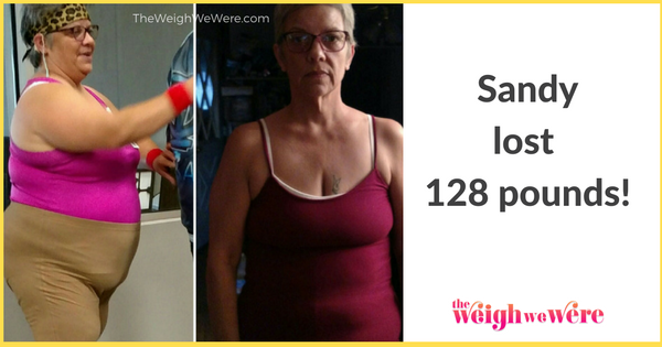 Sandy Lost 128 Pounds