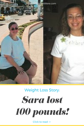 Sara lost 100 pounds! See my before and after weight loss pictures, and read amazing weight loss success stories from real women and their best weight loss diet plans and programs. Motivation to lose weight with walking and inspiration from before and after weightloss pics and photos.