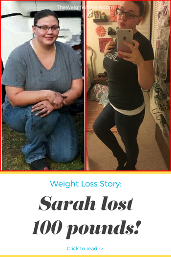 Sarah Lost 100 Pounds