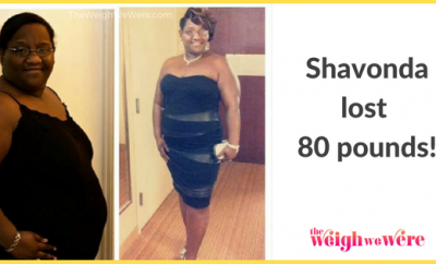 Before And After: ShaVonda Lost 80 Pounds And Fought Her Depression