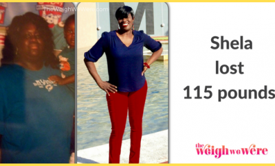 Before And After: Shela Takes Back Her Life With 115 Pound Weight Loss