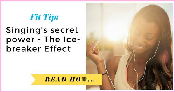 Singing's secret power: The Ice-breaker Effect| via TheWeighWeWere.com