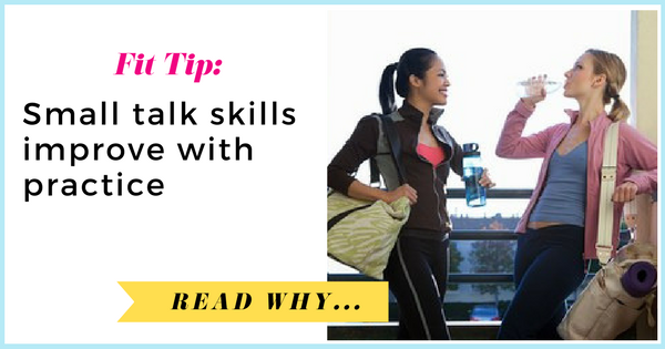 Small talk skills improve with practice  via TheWeighWeWere.com